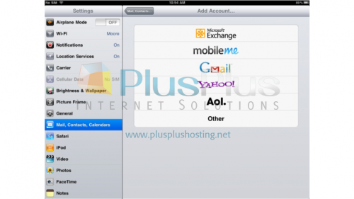 how to create another gmail account on ipad