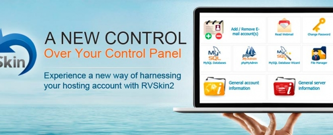 New responsive RVSkin2 for cPanel