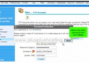 How to create additional ftp accounts in cPanel with RVSkin