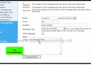 How to create an autoresponder in cPanel with RVSkin