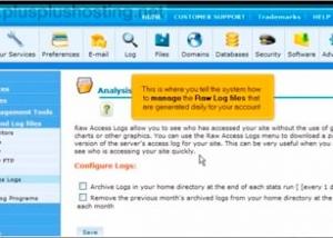 Cómo administrar el registro de accesos en cPanel con RVSkin