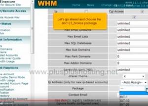 Cómo crear una nueva cuenta de alojamiento web en WHM