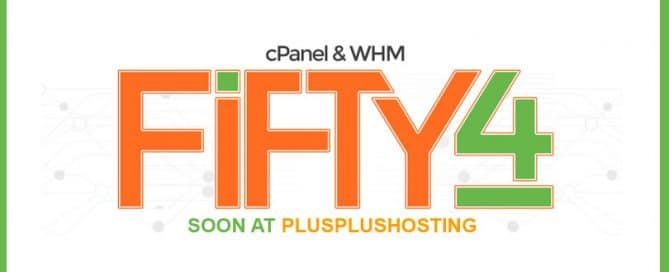 New cPanel Fifty4 version and some new interesting functions