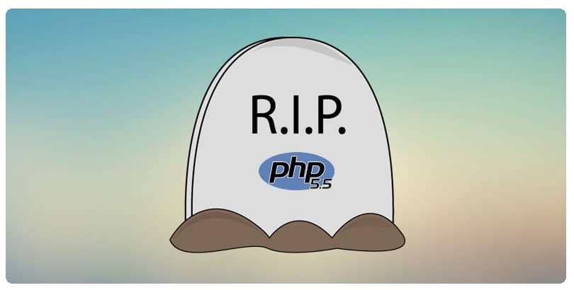 PHP 5.5 end of life
