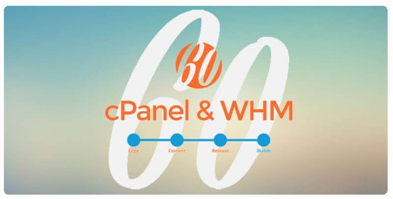 Running cPanel 60 in our Shared Hosting Servers